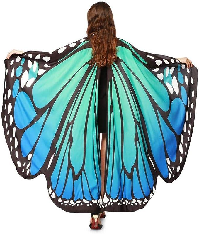 Amazon.com: Bufandas de mariposa para mujer y adulto ...