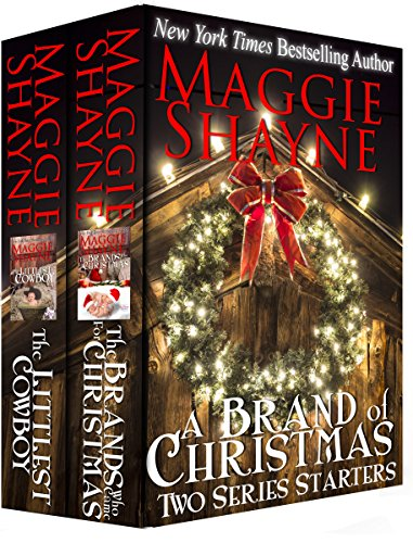 The TWO opening novels from New York Times bestseller Maggie Shayne's TWO most popular series! The Oklahoma All-Girl Brands, Book 1: THE BRANDS WHO CAME FOR CHRISTMAS:When good girl Maya Brand, eldest of five and the pillar of the family, has a momen...