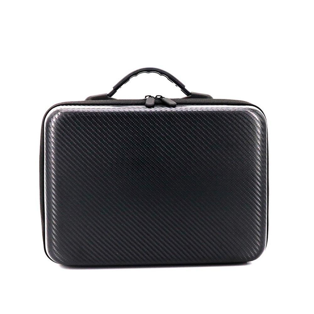PINCHUANGHUI PU Backpack, Hard Portable Bag Shoulder Carry Case Storage Bag Water-resistant Portable for DJI Mavic Pro Drone Quadcopter