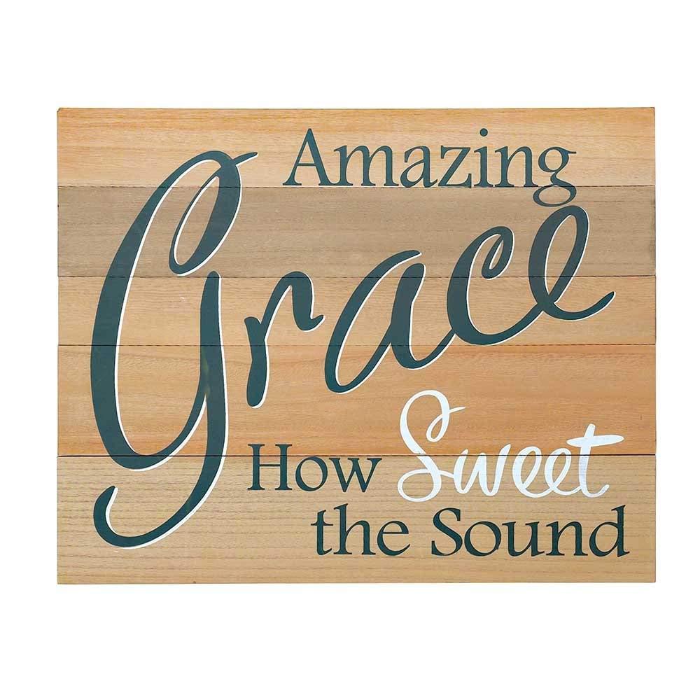 DCC Amazing Grace Pallet Wood Wall Art