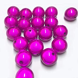 Dreamlike Miracle Assorted Center Drilled Style Beads Fantasy Dazzling Pearl Colourful Round Beads For Jewelry Making