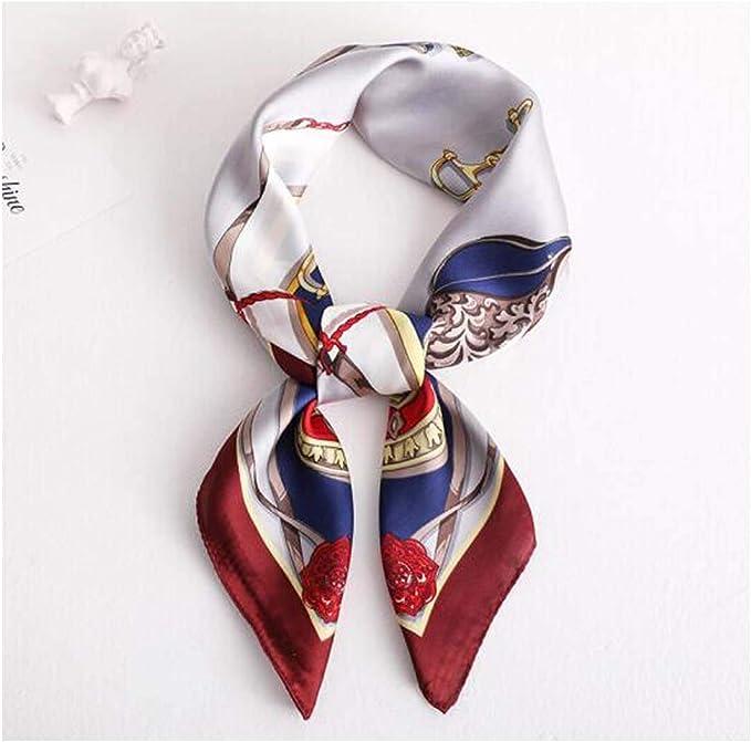 AYQX Sciarpa Quadrata Da Donna Primavera E Autunno Estate Sciarpa Di Seta Donna Cento Decorazione Professionale Piccola Sciarpa Sciarpa Sottile Sciarpa Sciarpa Sciarpa Sciarpa Sciarpa 70x70cm J