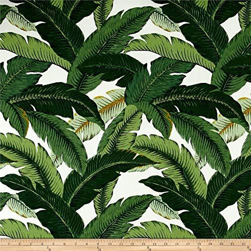 Tommy Bahama Indoor/Outdoor Island Hopping Fabric by The Yard, Emerald