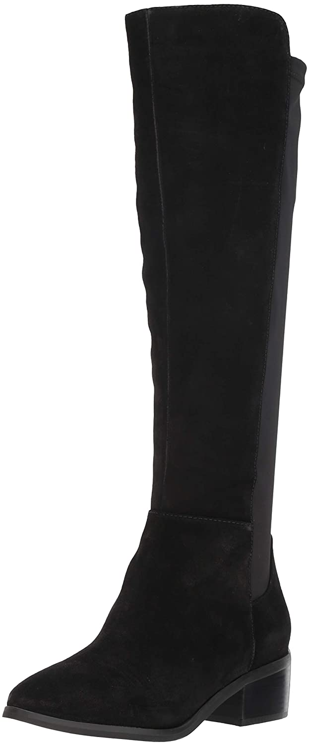 Black Suede Blondo Womens Gallo Knee High Boot