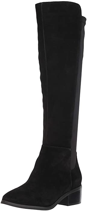 fd8f9ebe369 Blondo Women s GALLO Knee High Boot Black Suede 5.5 ...
