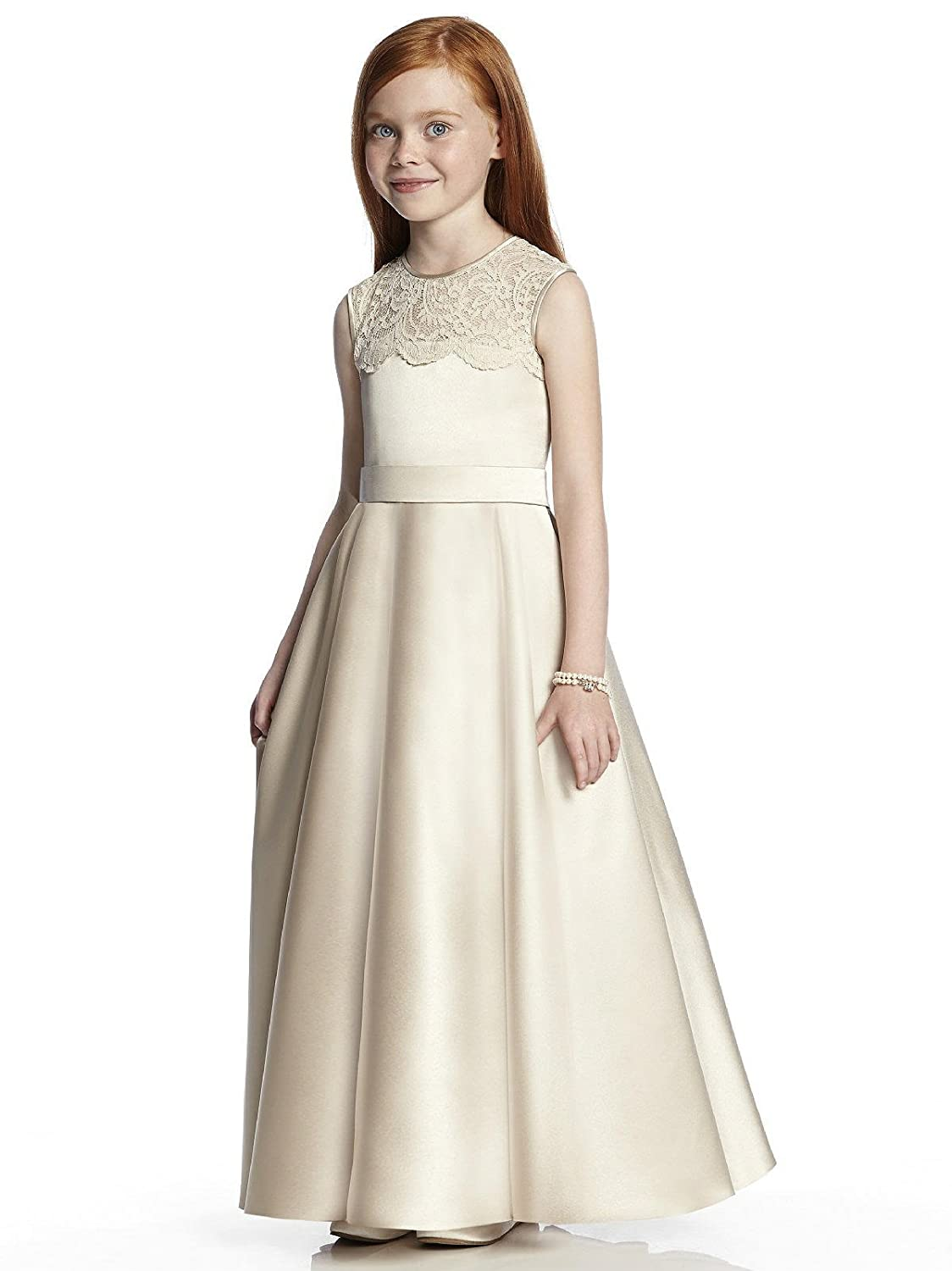 134b7823e43b5 Long Junior Bridesmaid Dress