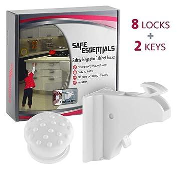 Amazon.com: Safe Essentials - Cierres magnéticos de ...