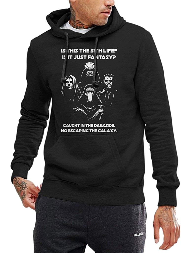 is This The Sith Life Funny Vintage Trending Awesome Shirt for Star Wars Fans Unisex Style by SMLBOO Hoodie