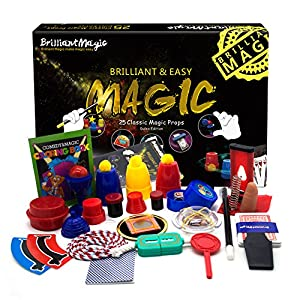 BrilliantMagic Magic Tricks Set for Kids Magician BMM001 New Edition