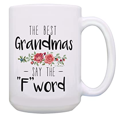 amazon com gifts for grandparents best grandmas say the f word