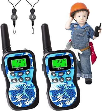 Kids Toys Outdoor Adventure Camping Game Parent-Child/Interaction Gift/for/Children Radio Toy /& Handheld 5 Miles Long Range 22 Channel Kids Walkie Talkies