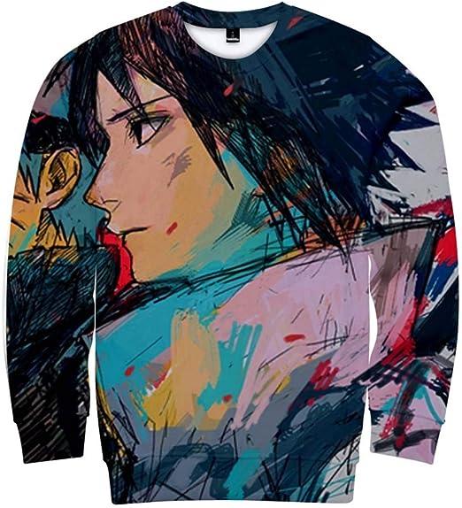 Zcbm Moda Sudaderas Camisas Cuello Redondo Manga Larga Crew ...
