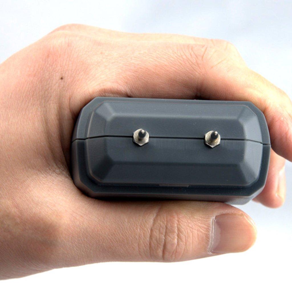 Dolity Portable 2Pin Digital Wood Moisture Meter Hygrometer Damp Detector Tester With LCD Display