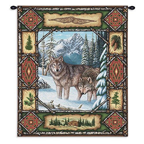 Pure Country Weavers - wolf wall decor