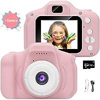 Videocamera per bambini, videocamera/video HD 1080p, schermo LCD da 2 pollici, fornito con scheda di memoria 32G-F1-111