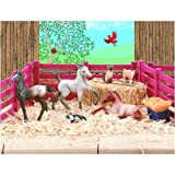 : Breyer Stablemates Kitten and Foal Play Set