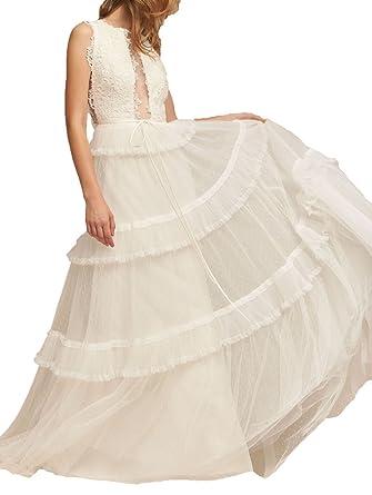 Amazon vestido novia boho