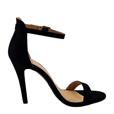 c8ca892eed1 Delicious Tyrell Women s Open Toe Ankle Strap Heel (5.5