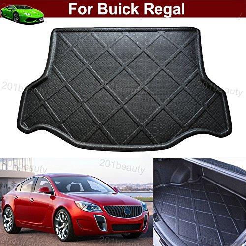 Buick Regal Black Carpet - Kaitian Car Boot Mat Carpet Cargo Mat Cargo Liner Trunk Liner Tray Floor Mat for Buick Regal 2009 2010 2011 2012 2013 2014 2015 2016 2017 2018 2019 2020