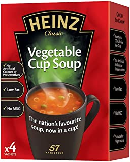 product image for Heinz Cream of Vegetable Cup Soup - 76g - Pack of 2 (76g x 2)