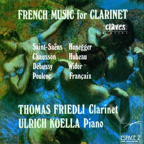 Música francesa para clarinete
