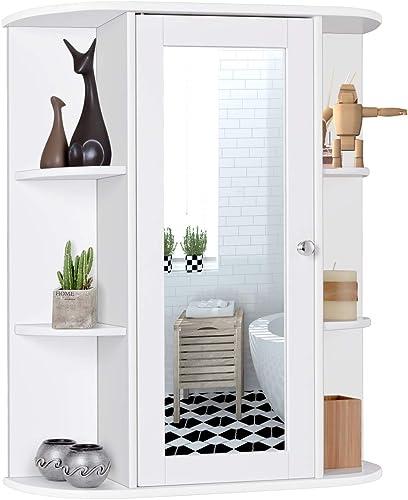Tangkula Bathroom Cabinet