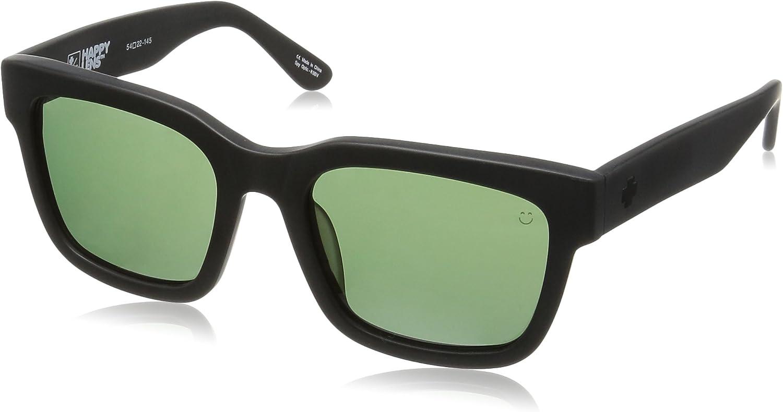 NEW Spy Optics Trancas Matte Black Happy Grey Green 673240374863 Sunglasses