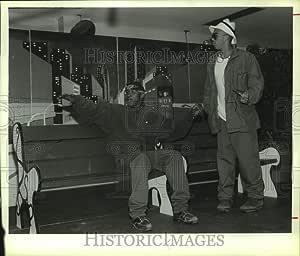 Historic Images 1994 Press Photo Inmates at Greene Correctional Facility, New York act in a Play