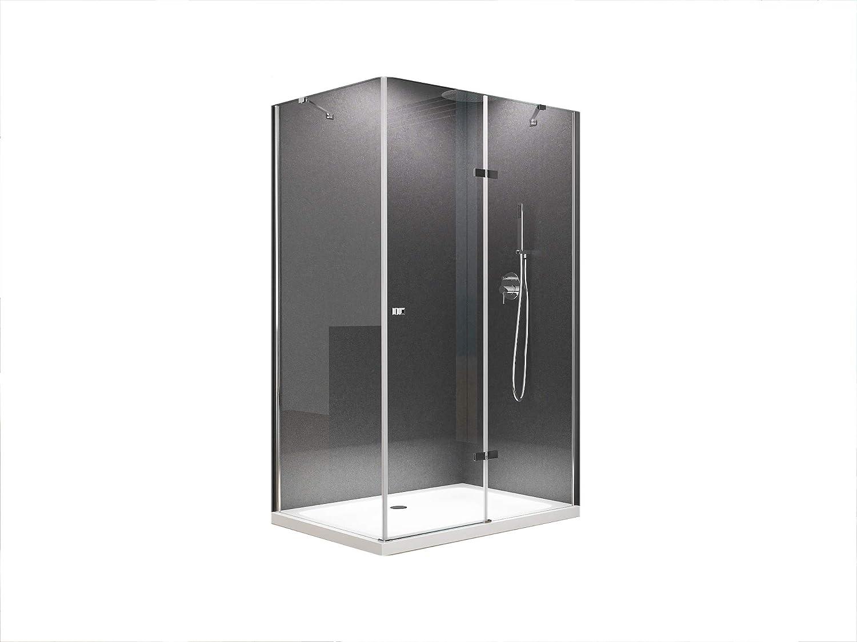 Anna esquina. cabinas de ducha Ducha Mampara/altura 195 cm/8 mm ...