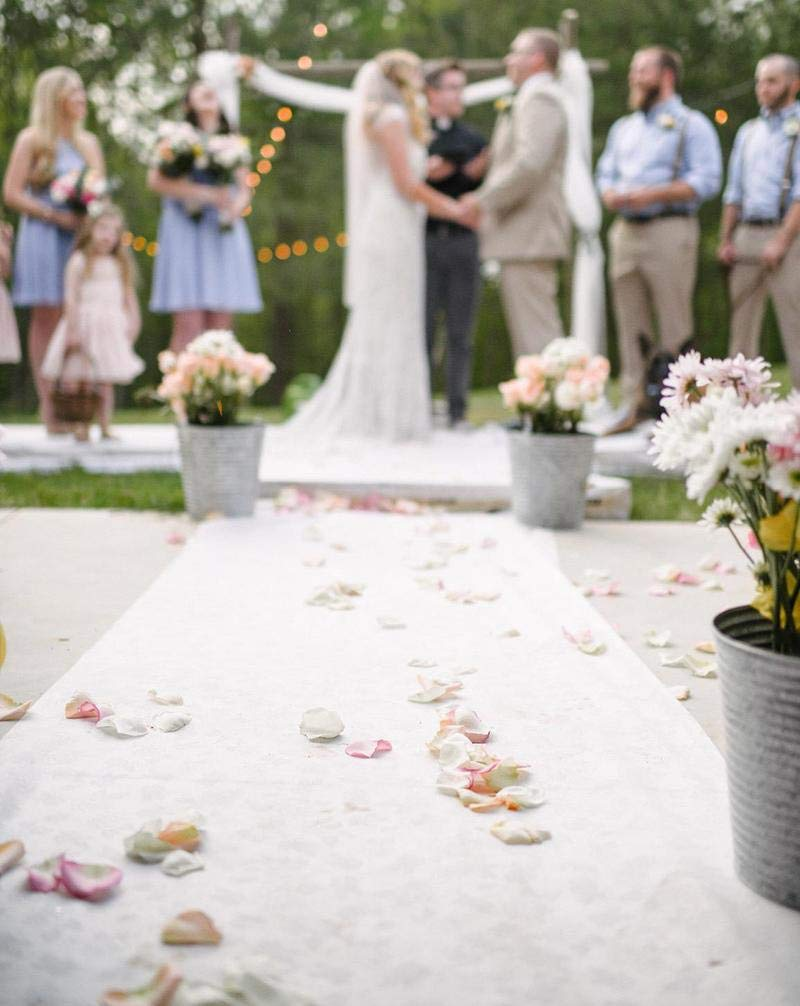 Wedding Aisle Runner Wedding Rugs Essential Indoor and Outdoor Wedding Decoration Dream Wedding Decor 3 x 50ft