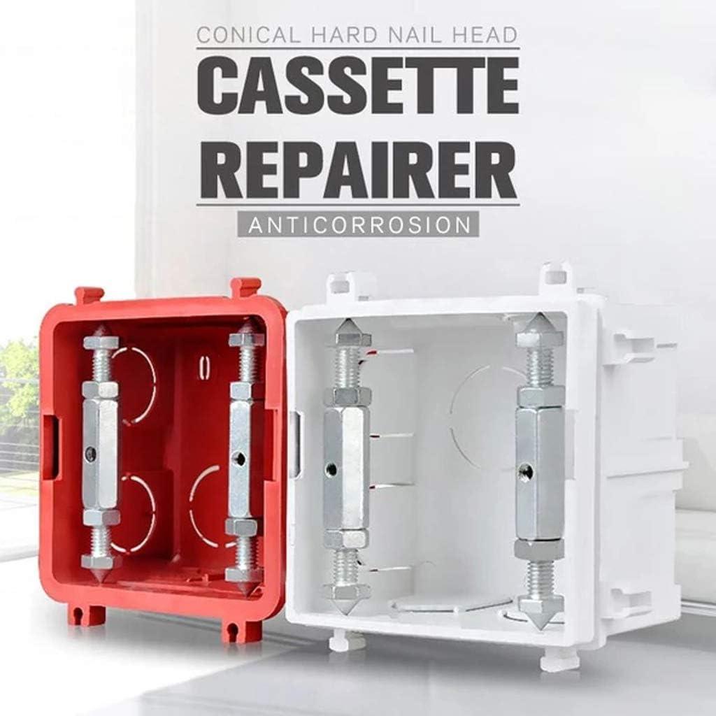 Socket Cassette Box Repairing Support,86 Type Switch Socket Cassette Junction Box Bottom Box Repair