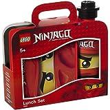 Room Copenhagen 4059 Lego Ninjago con Tazza, Bottiglia per Acqua, 350 ml, Rosso