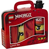 LEGO Ninjago 4059 Lunch-Set (Brotdose mit 350ml Trinkflasche) rot