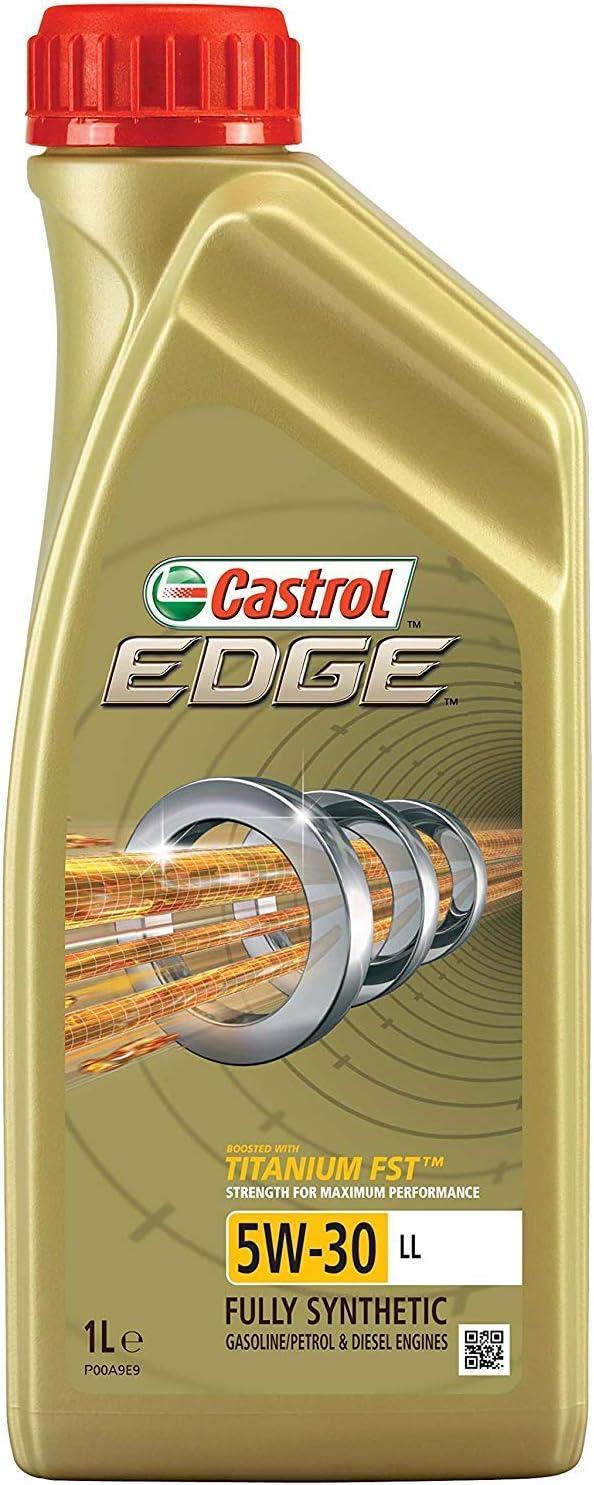 2x 1 Litre Castrol Edge Fluid Titanium 5w 30 Ll Engine Oil Including Castrol Oil Change Trailer Auto