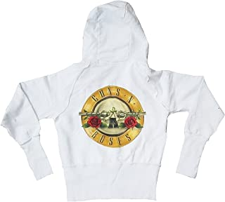 Amplified - Sweat-Shirt - Femme Blanc Blanc