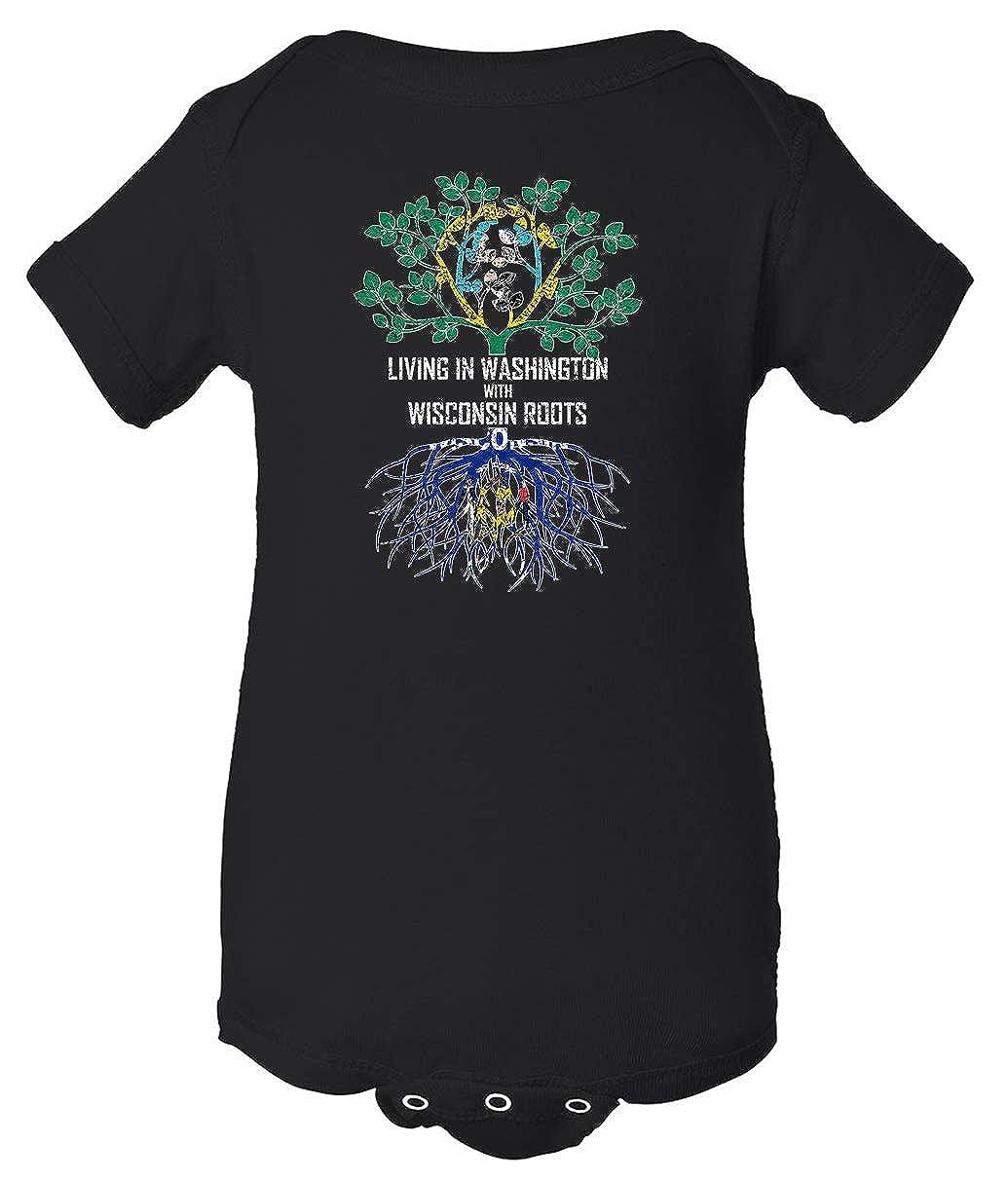 Tenacitee Babys Living in Washington Wisconsin Roots Shirt