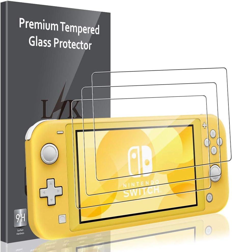 LK Protector de Pantalla para Nintendo Switch Mini Cristal Templado, [3 Unidades] [9H Dureza] [Resistente a Arañazos] Vidrio Templado Screen Protector: Amazon.es: Electrónica