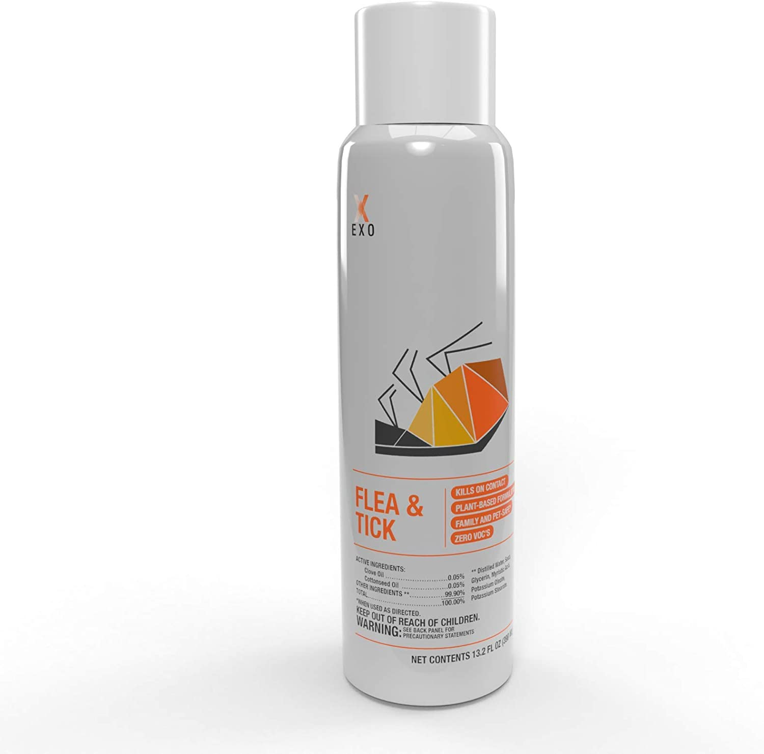 Pyur Solutions EXO Insecticide Non-Toxic, Flea and Tick Killer Biodegradable Spray