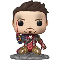 Pop! Avengers Endgame: I Am Iron Man Glow-in-The-Dark Deluxe Vinyl Figure