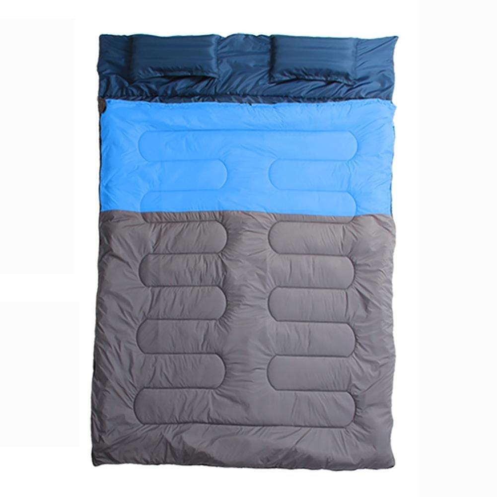 Miao Outdoor Camping Reise Paar doppelte Baumwolle Schlafsack