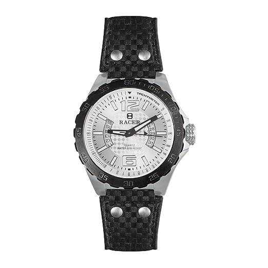 Racer Reloj Analógico para Mujer de Cuarzo con Correa en Cuero R301: Amazon.es: Relojes