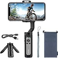 Estabilizador de Mano iSteady X Gimbal Estabilizador para Smartphone de 3 Ejes, para iPhone XS/XR/X/8/8/11 Plus, Samsung…