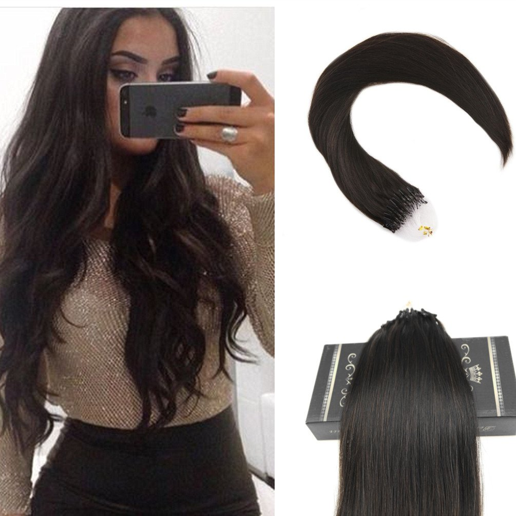 Amazon Ugeat 20inch 50g 1gs Micro Ring Hair Extensions Human