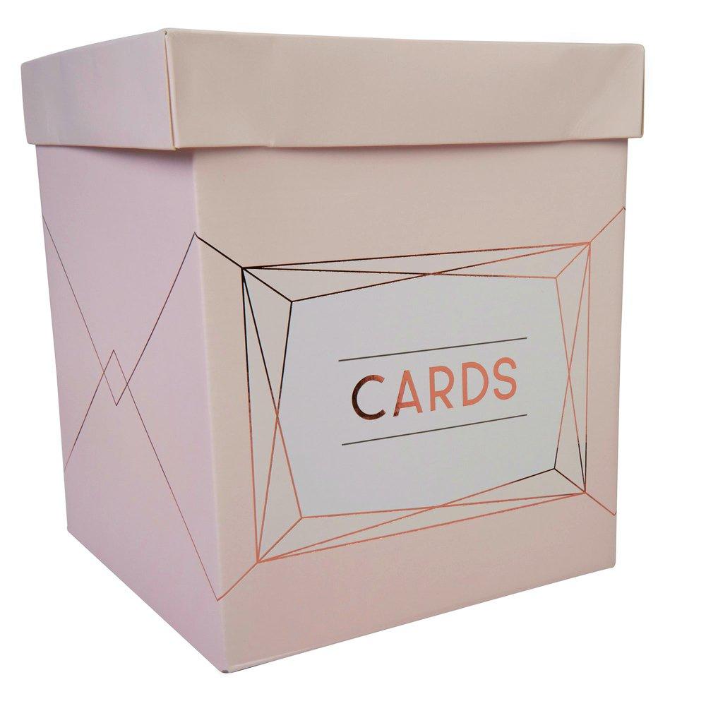 Neviti - Geo Blush - Wedding Card Post Box 770207