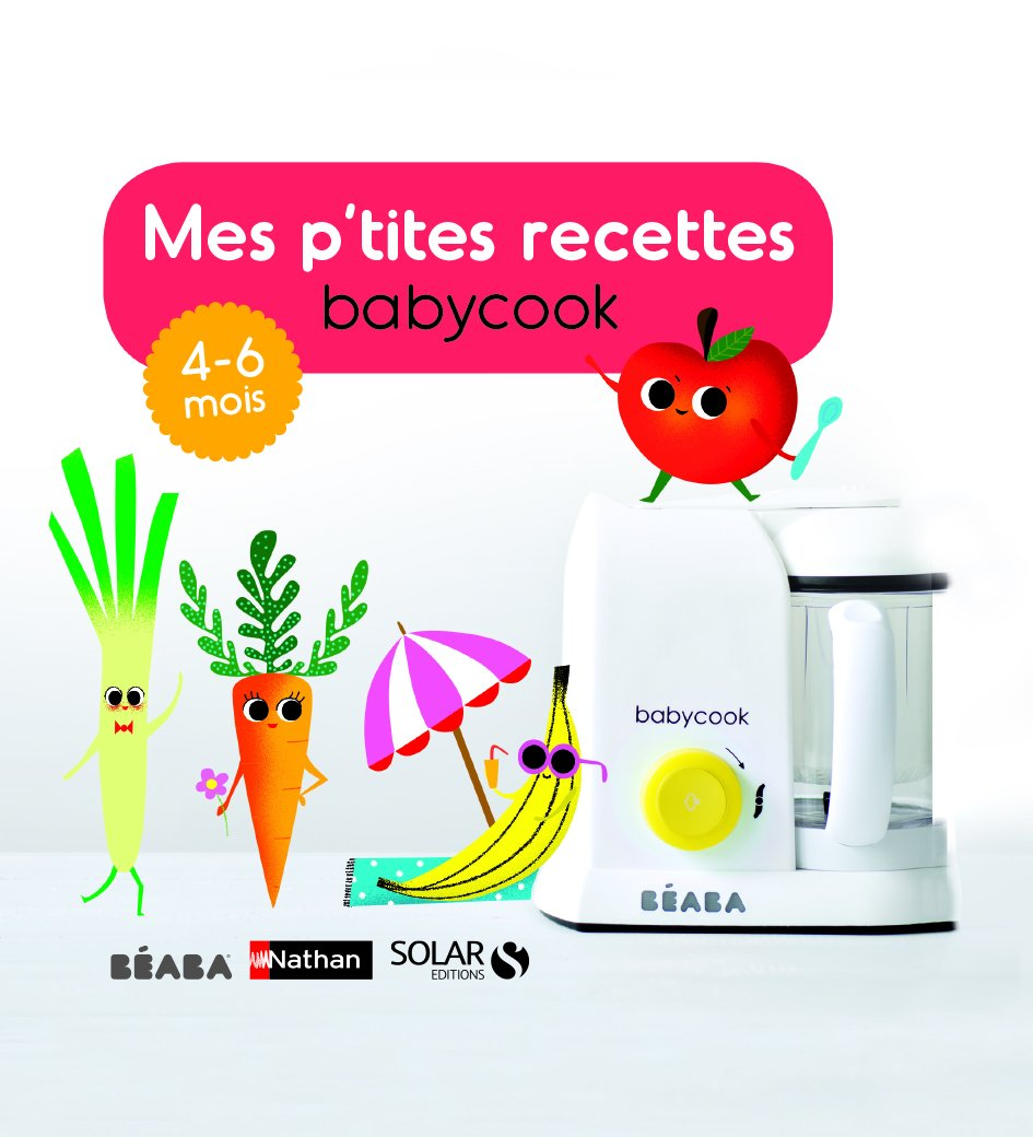 Béaba Mes P'tites Recettes Cook Book (French Language), Various Ages available BÉABA 912555