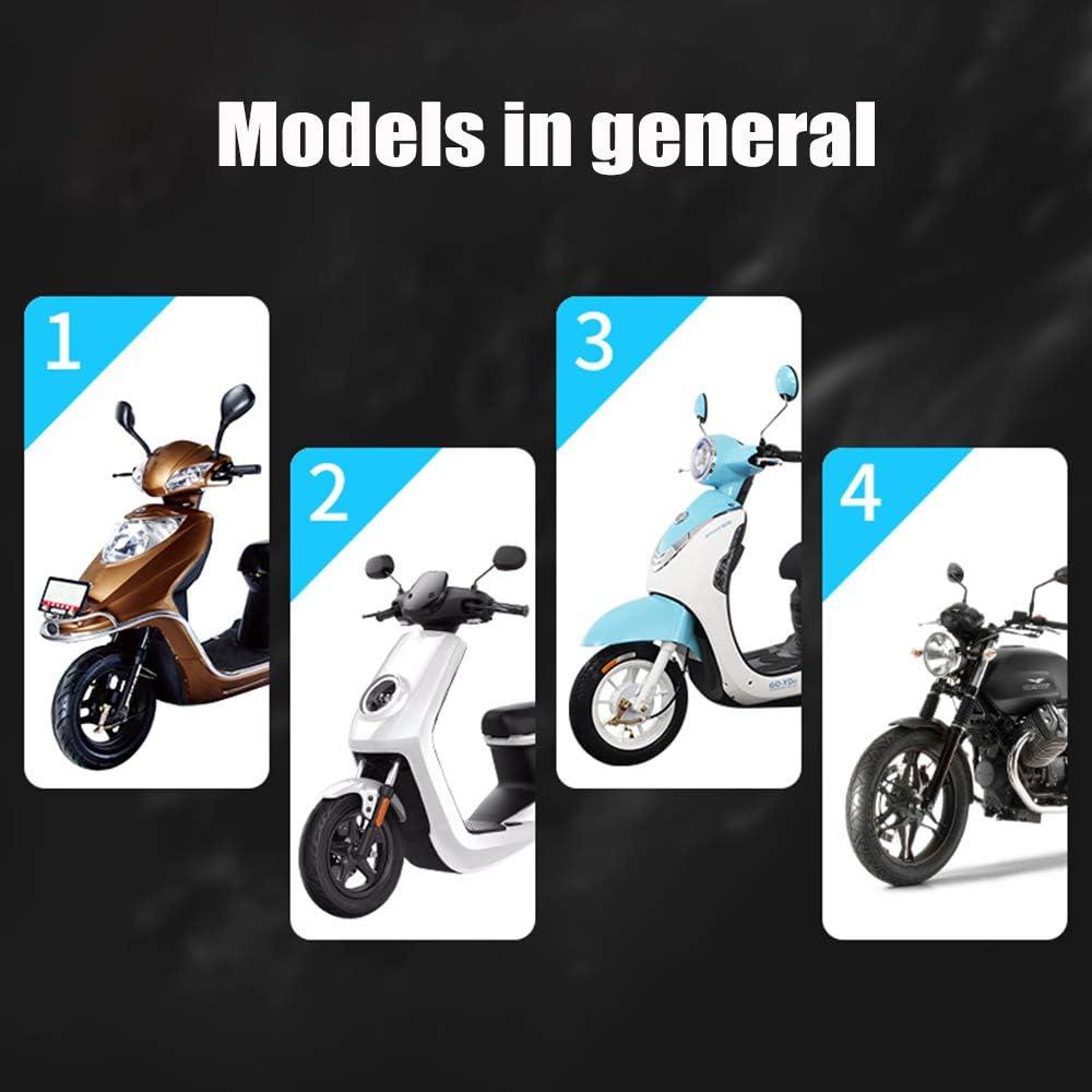 Feu Arri/ère Universel Pour Moto Moto Modifi/ée Led Plaque Dimmatriculation Lumi/ère SOOTOP Lumi/ère Blanche Led Pour Plaque Dimmatriculation De Stationnement