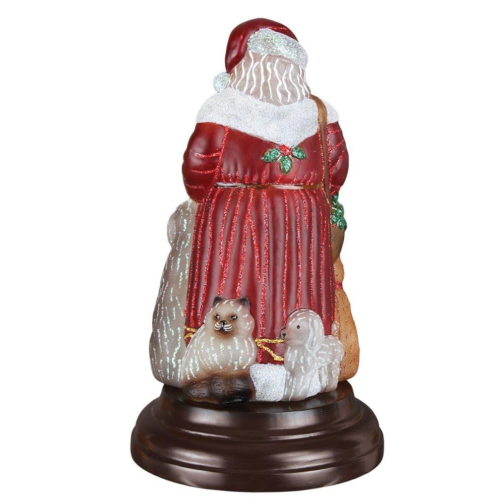 Old World Christmas Night Light Figurine - Santa's Furry Friends by Old World Christmas