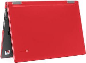 """mCover Hard Shell Case for 2019 14"""" Lenovo 14e Series Chromebook Laptop (NOT Fitting Older 14"""" Lenovo N42 / S330 and 11.6"""" N22 / N23 / N24, etc Chromebook) (LEN-C14e RED)"""