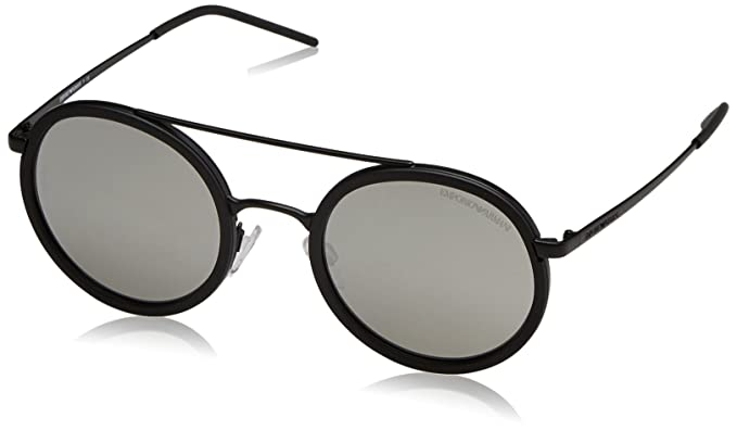 Emporio Armani Earmani 4078 Gafas de sol, Blue Rubber 506580 ...