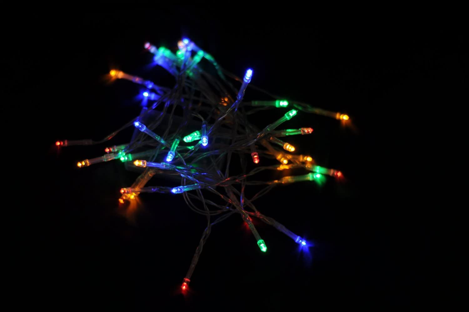 Blue Karlling Battery Operated Blue 40 LED Fairy Light String Wedding Party Xmas Christmas Decorations